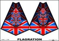 Gilbert & George - Flagration, 2008.