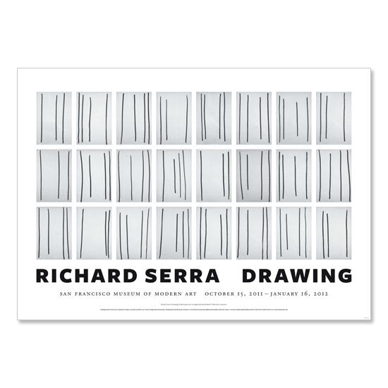 Serra Richard Books Richard Serra Poster Drawing