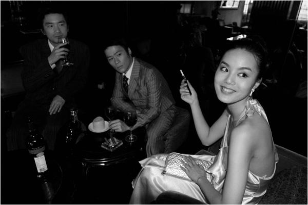 Yang Fudong, Ms. Huang at M last night Nr.2, 2007.