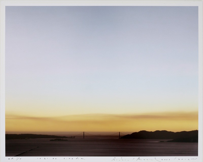 Richard Misrach - 0.21.00 6:49 PM (SMOKE), 2012.