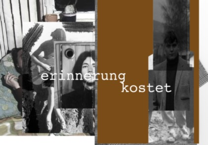 Rosemarie Trockel, Part I, Account Book, 2012. Part II, Erinnerung kostet / Memory costs, 2012.