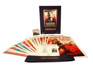 Shepard Fairey - Americana Box Set, 2012.