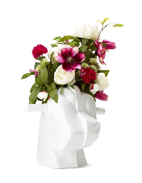 Jeff Koons, Split Rocker vase, 2013.