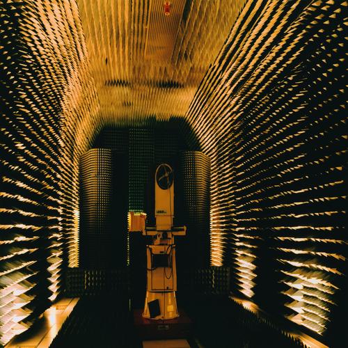 Lewis Baltz - Anechoic Chamber, France Telecom Laboratories, Lannion, France, 1989-91, 2012.