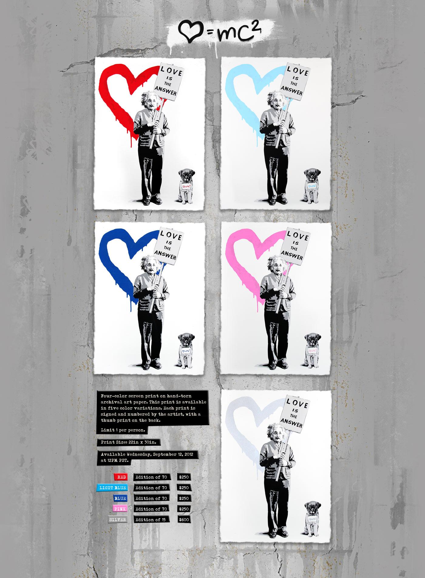 Mr Brainwash - ♥ = mc2, 2012