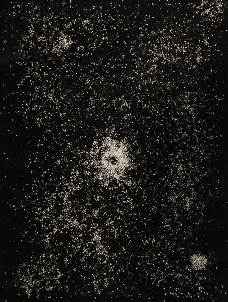 Rashid Johnson, Astral Tablecloth, 2012.