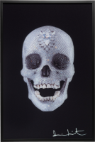 Damien Hirst, For the Love of God, Lenticular, 2012.
