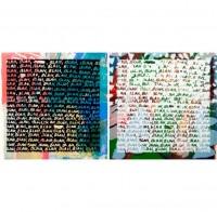 Mel Bochner, 'Blah,Blah,Blah'+ Background Noise , 2012.