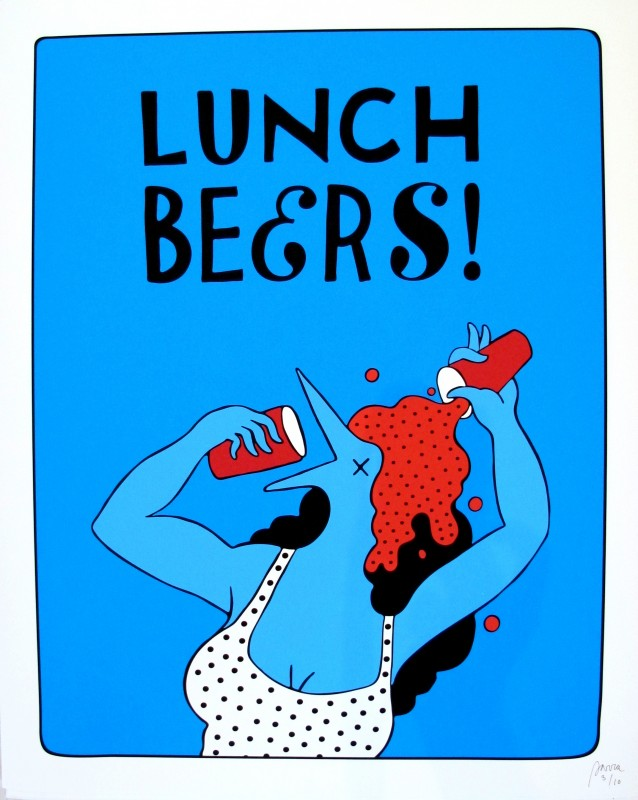 Parra prints – Lunch Beers 1, 2 & Drinking the Drink – Out Now