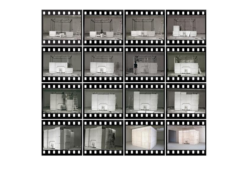 Rachel Whiteread, Installation of Ghost, 1990 - 2012.
