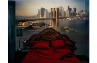 Abelardo Morell, View of Brooklyn Bridge in Bedroom, 2009/2012.  SOLD OUT