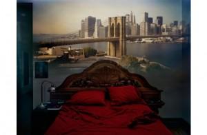 Abelardo Morell, View of Brooklyn Bridge in Bedroom, 2009/2012. SOLD OUT