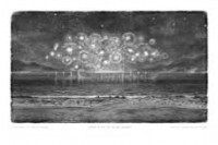 Hans Op de Beeck - Midnight, a calm Sea and some Fireworks - 2012.