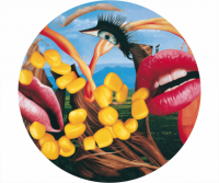 Jeff Koons, Lips plate, 2014.