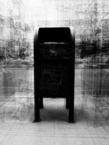 Klara Liden, Untitled (mailbox), 2012.