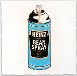 Mr. Brainwash, Bean Spray, 2012.