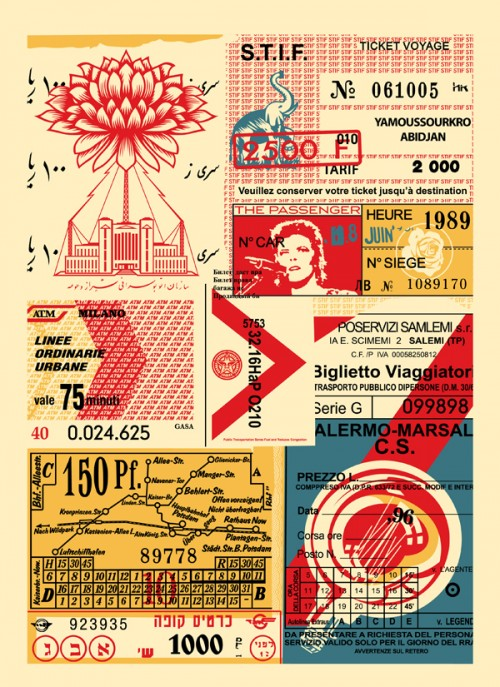Shepard Fairey - Station to Station 1, 2012.