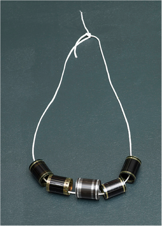 Tacita Dean - Necklace - Film reels, 2012