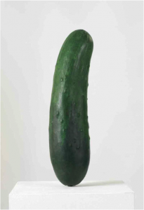 Erwin Wurm, Cucumber, 2012.
