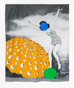 John Baldessari, Beach Towel, 2012.