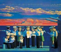 Liu Ye, Red Warship, 2012.