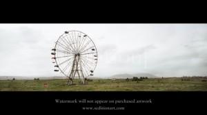 Wim Wenders, Ferris Wheel, 2012.