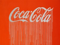 Zevs, Liquidated Coca-Cola (Luminescent Print Edition), 2012.