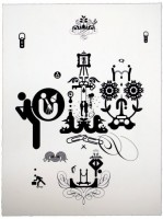 Ryan McGinness, Units of Meaning (1), 2012.