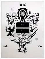 Ryan McGinness, Units of Meaning (2), 2012.
