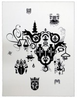 Ryan McGinness, Units of Meaning (3), 2012.