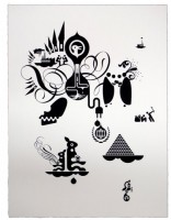 Ryan McGinness, Units of Meaning (5), 2012.