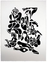 Ryan McGinness, Women (1), 2012.