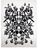 Ryan McGinness, Women (2), 2012.