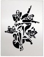 Ryan McGinness, Women (3), 2012.