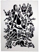 Ryan McGinness, Women (5), 2012.