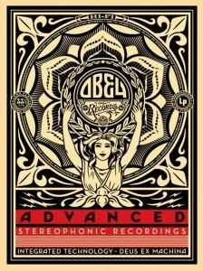 Shepard Fairey, Lotus Woman, 2013.