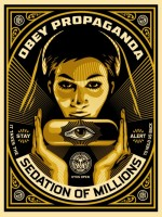Shepard Fairey, Sedation Pill, 2013.