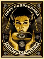 Shepard Fairey, Sedation Pill, 2013.