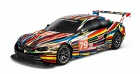 Jeff Koons BMW M3 GT2- Art Car 1:18 scale model, 2010.