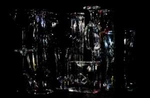 Corin Sworn, The Slow Liquidity of Glass, 2013.