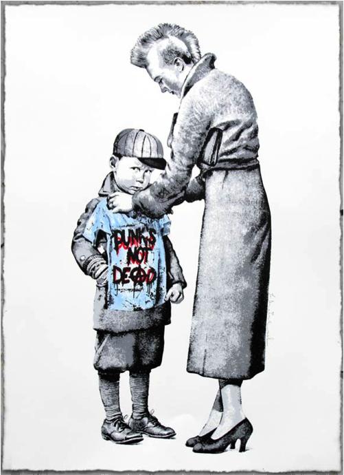 Mr. Brainwash, Punk's not Dead, 2013.