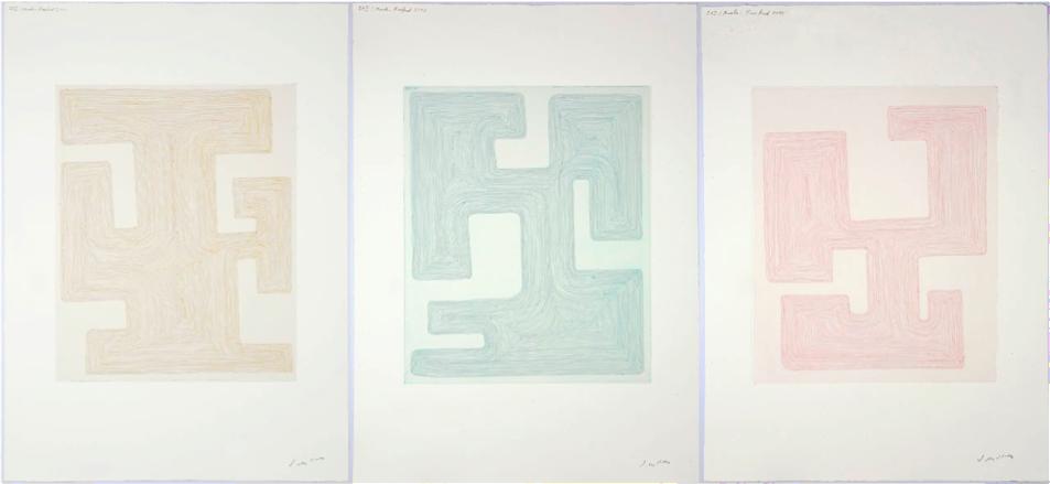 Olav Christopher Jenssen: Enigma 1, 2, 3, 2012.