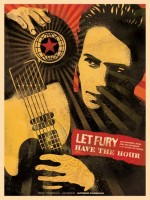 Shepard Fairey, Let Fury Have The Hour - Book, 2013.