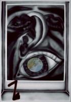 Jana Euler, Die Individualisierte editionsnummer besichtigt das Subjektieve Fenster (Bild) und Guckt auf ain stuck der Welt, 2013.