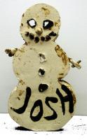 Josh Smith, Snowman, 2013.