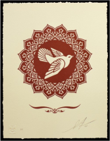 Shepard Fairey, Peace Dove, 2013.