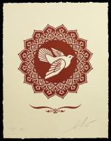 Shepard Fairey, Peace Dove, 2013.