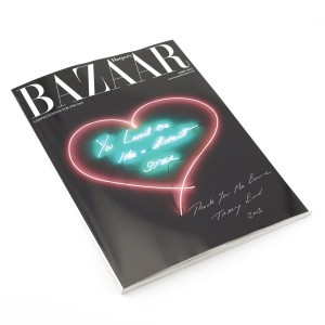 Tracey Emin, Harper's Bazaar - April 2013 Special Collectors Edition