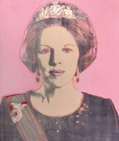 Andy Warhol, Beatrix - Reigning Queens, 1985.