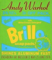 Andy Warhol, Brillo (Pasadena Art Museum), 1970. (Image courtesy of The Andy Warhol Foundation for the Visual Arts)